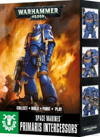 Space Marines. Primaris Intercessors. Easy to Build