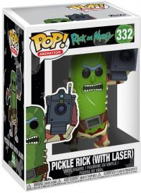 Фигурка Funko POP! Vinyl: Rick & Morty: Pickle Rick w/Laser