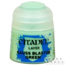 Краска Layer: Gauss Blaster Green (12 мл)