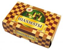 Шахматы в картонной коробке