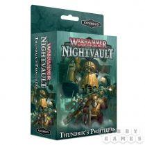 Warhammer Underworlds Nightvault: Thundrik's Profiteers  (RUSSIAN)