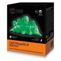 Трюки Науки - Светящийся лизун (зеленый)