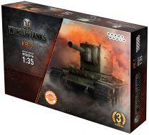 World of Tanks. КВ-2. Масштабная модель 1:35 (Сборный танк)
