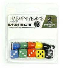 Набор фишек и кубиков (10 предм.).