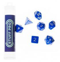 Набор кубиков STUFF PRO для ролевых игр. Синие, Китай