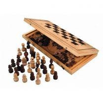 Игра 2 в 1 шахматы, нарды