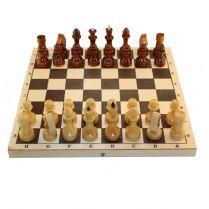 Шахматы деревянные с доской 290*145