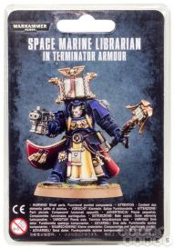 S/M Librarian in Terminator Armour
