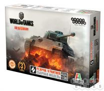 World of Tanks. Pz.Kpfw. V PANTHER. Масштабная модель 1:56 (Сборный танк) (2-е рус.