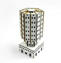 Cedrus Tower. Модель здания для игр с миниатюрами.