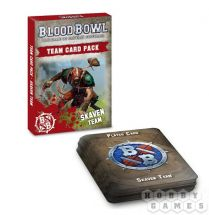 BLOOD BOWL: SKAVEN TEAM CARDS (ENGLISH)