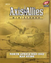 Axis&Allies Miniatures: North Africa 1940-1943: Карта